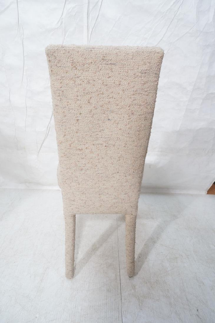 Set 6 Nubby Upholstered Dining Chairs. Fully upho - 9