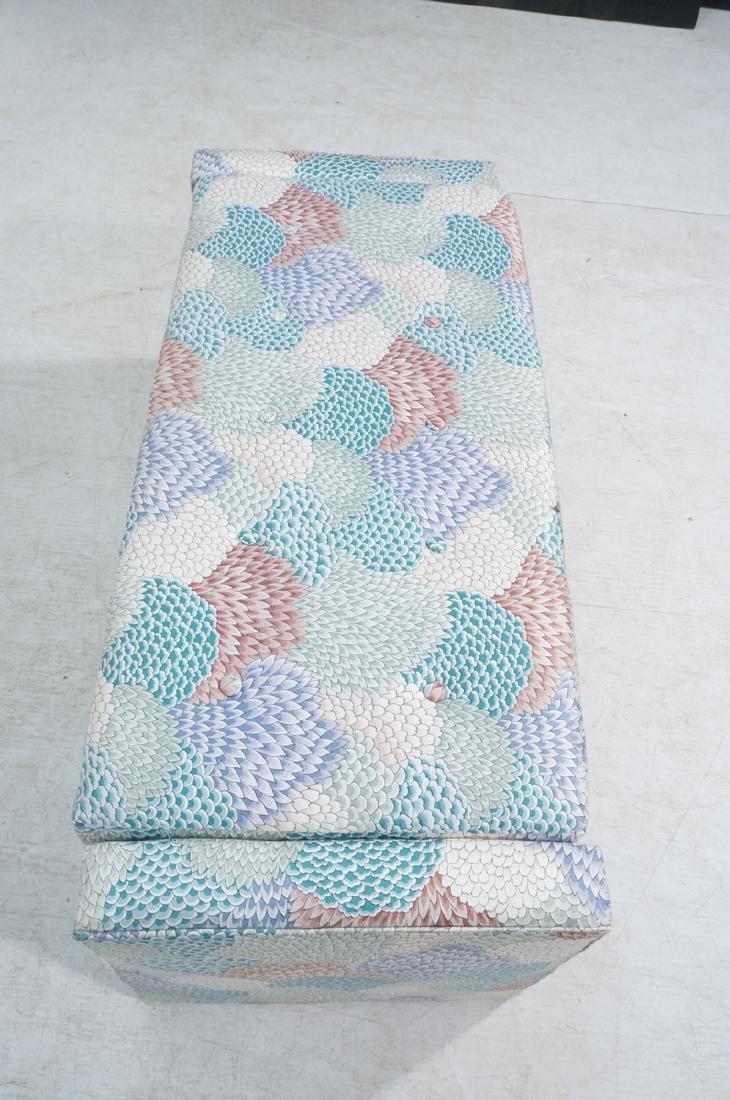 Modernist Upholstered Bench Seat. Fully upholster - 4