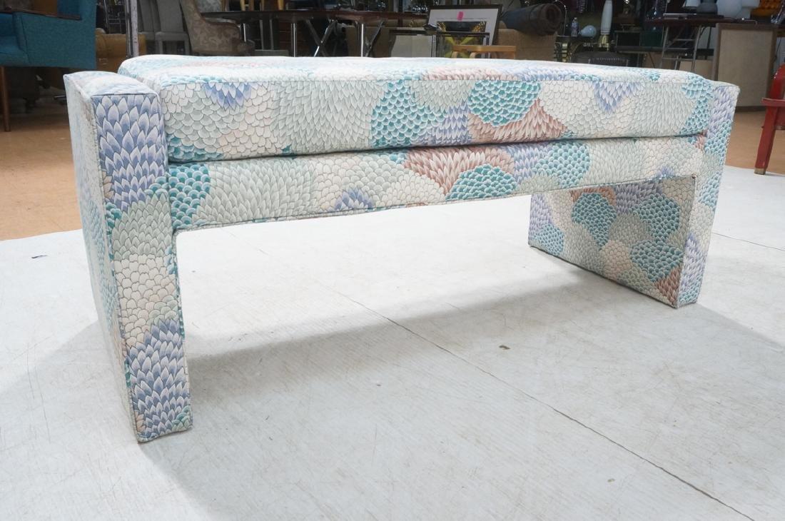 Modernist Upholstered Bench Seat. Fully upholster - 6