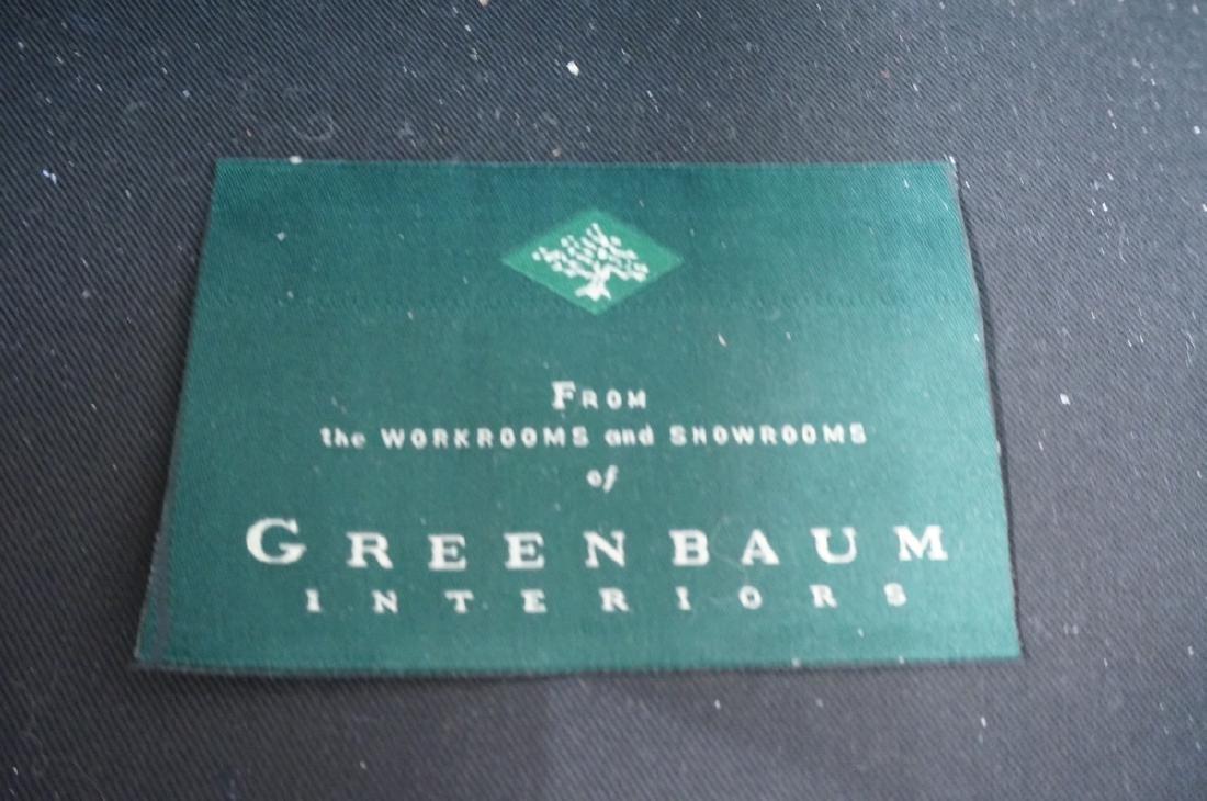 Greenbaum Interiors Leather Lounge Chair.  Blu  S - 8