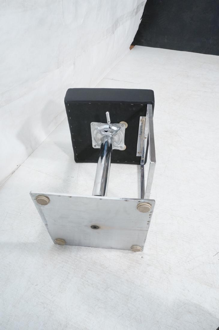 Pr Modernist Heavy Hydraulic Adjustable Bar Stool - 8