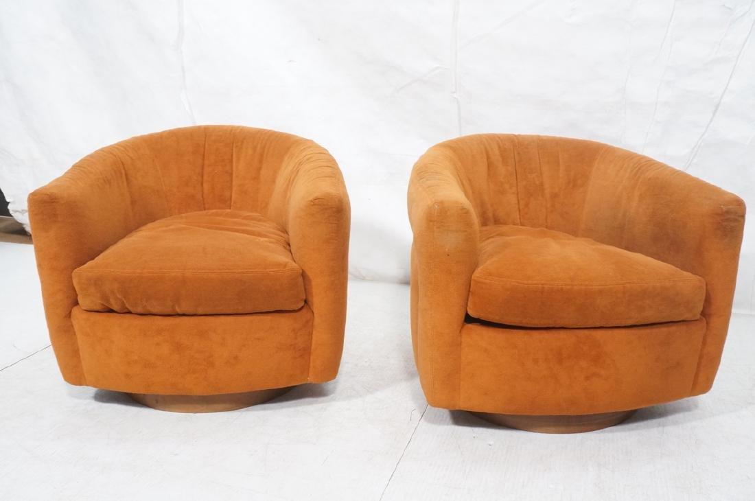 Pr THAYER COGGIN MILO BAUGHMAN Lounge Chairs. Bar - 2