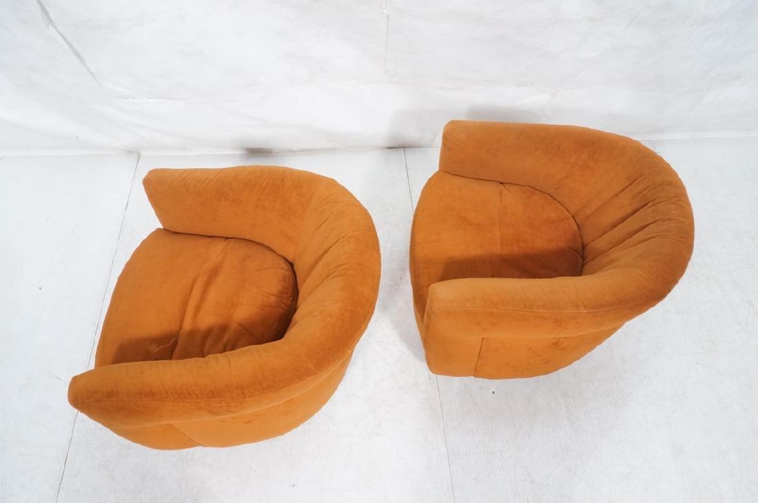 Pr THAYER COGGIN MILO BAUGHMAN Lounge Chairs. Bar - 6
