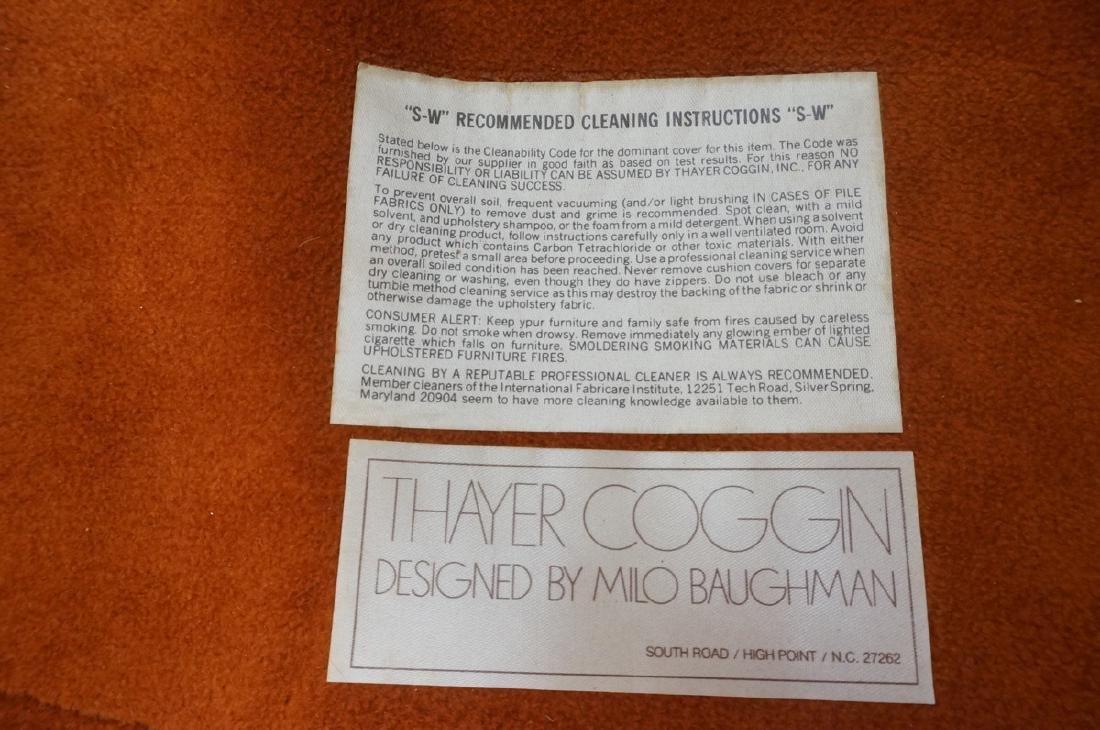 Pr THAYER COGGIN MILO BAUGHMAN Lounge Chairs. Bar - 8