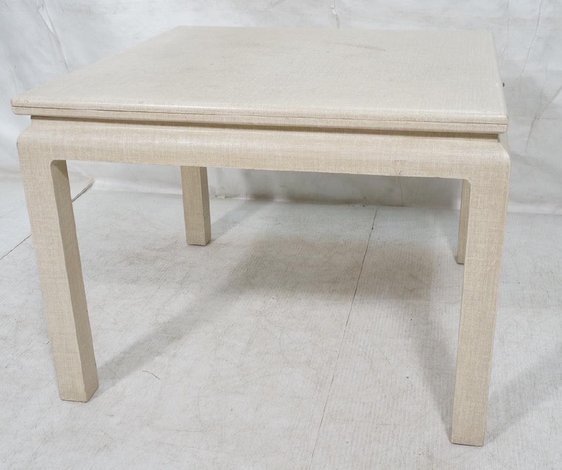 KARL SPRINGER Style Texture Flip Top Dining Table