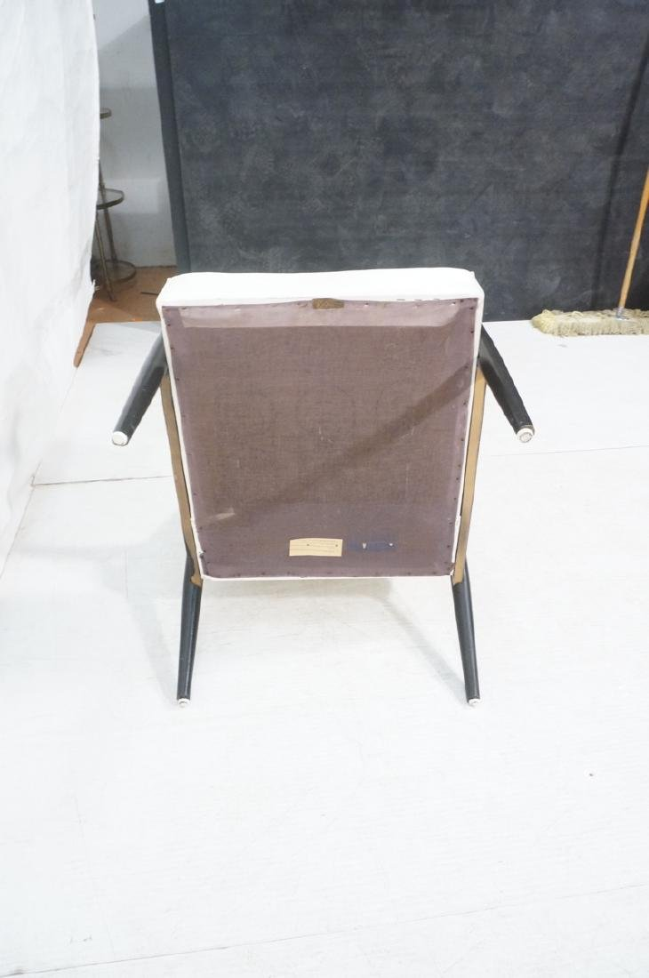 BAUMRITTER Ebonized Arm Lounge Chair. Ebonized fr - 7