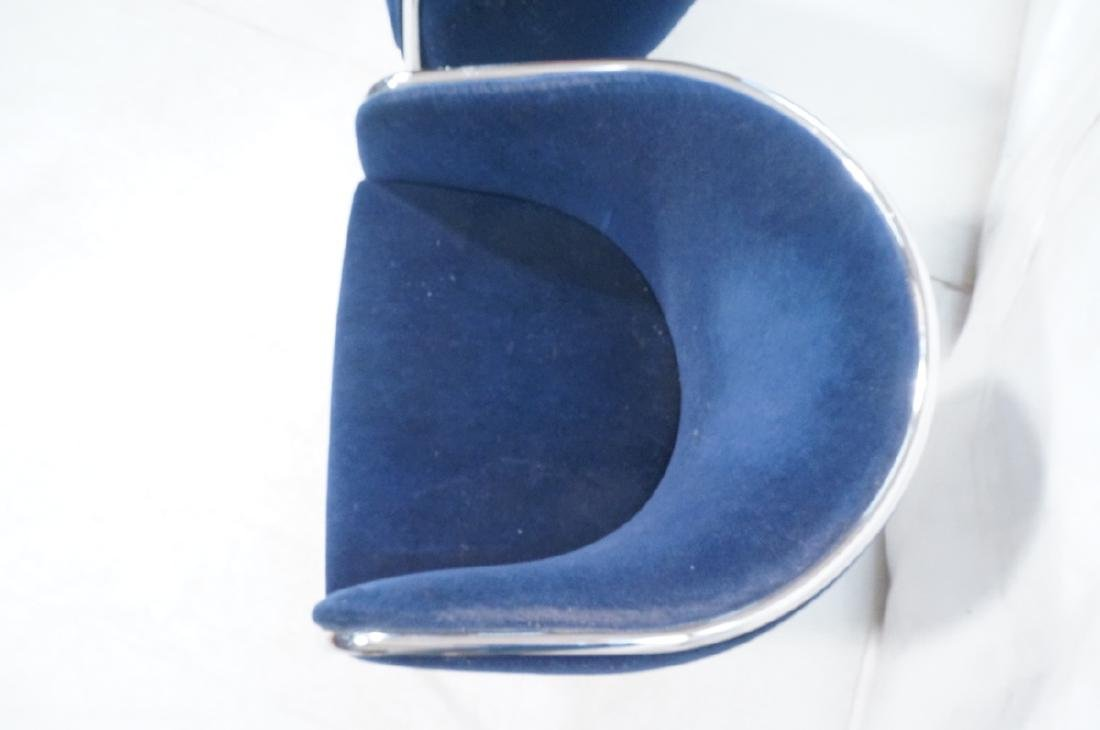 Pr THONET Chrome Frame Modernist Lounge Chairs. R - 7