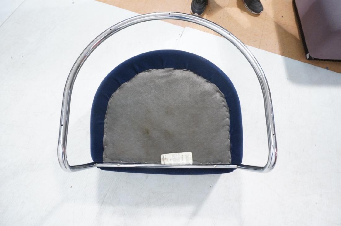 Pr THONET Chrome Frame Modernist Lounge Chairs. R - 8