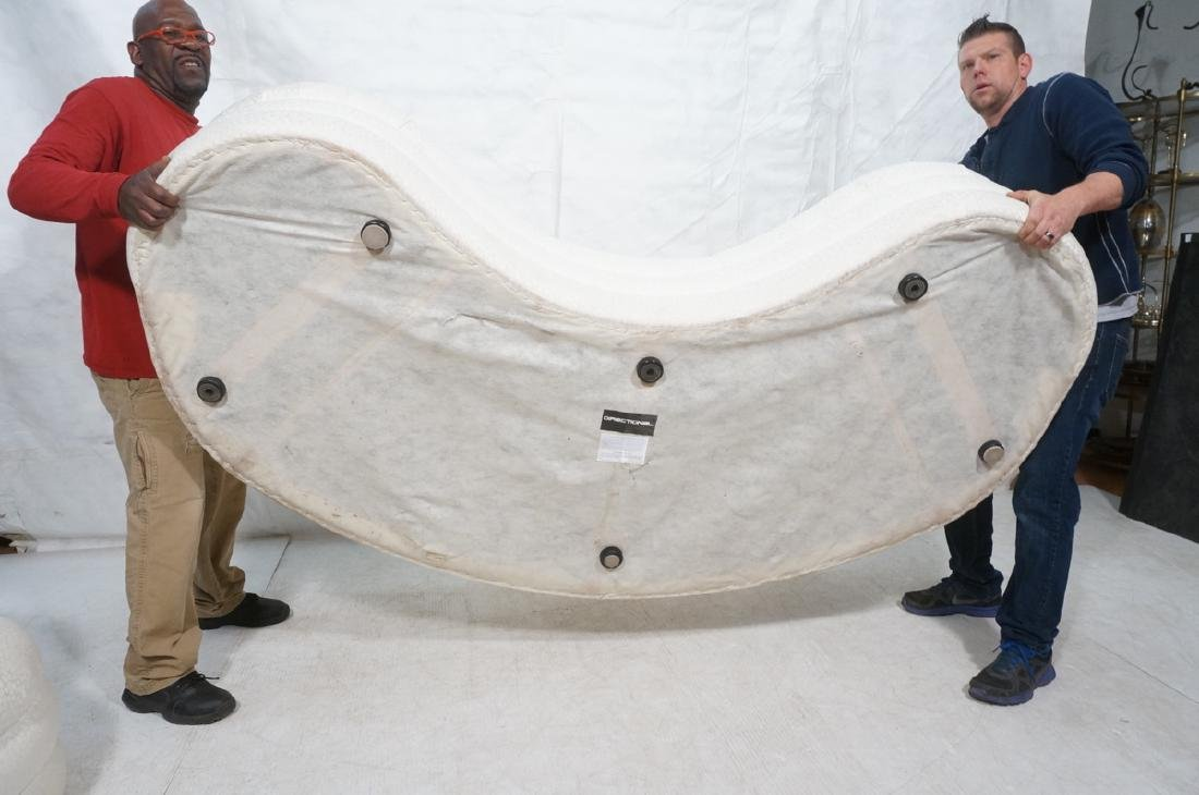 Directional Curved Sofa Possibly Paul Evans or Ka - 11