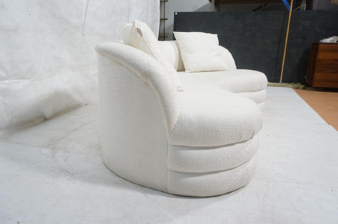 Directional Curved Sofa Possibly Paul Evans or Ka - 3