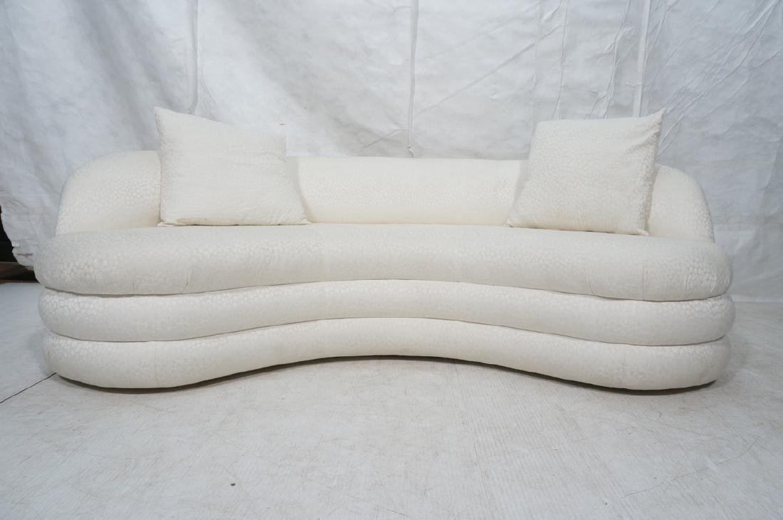 Directional Curved Sofa Possibly Paul Evans or Ka - 4