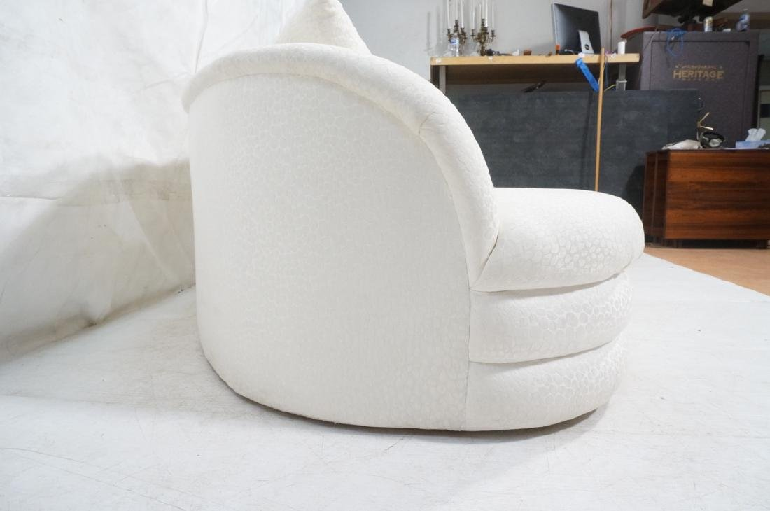 Directional Curved Sofa Possibly Paul Evans or Ka - 5