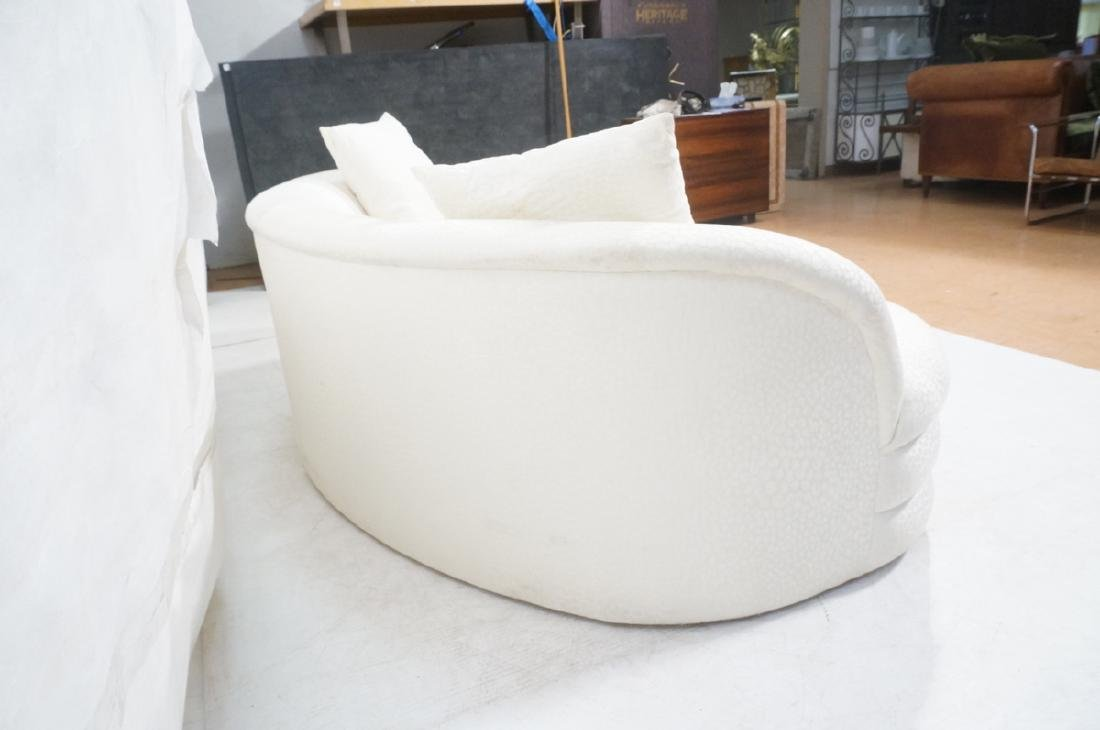 Directional Curved Sofa Possibly Paul Evans or Ka - 6