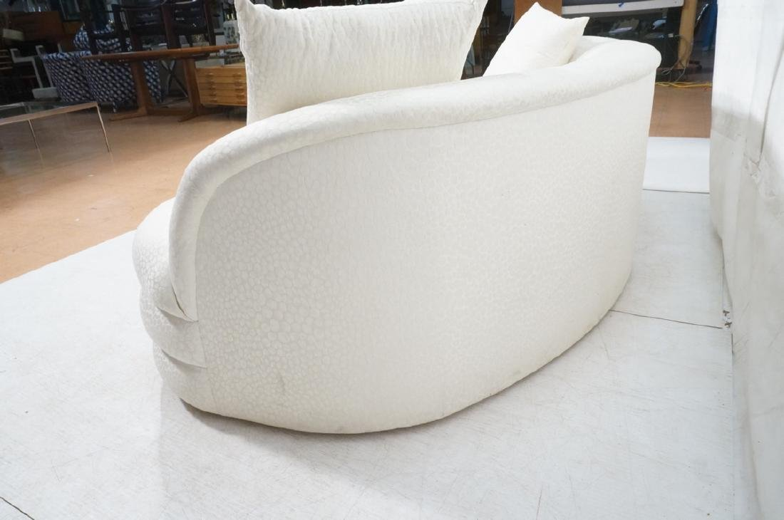 Directional Curved Sofa Possibly Paul Evans or Ka - 7