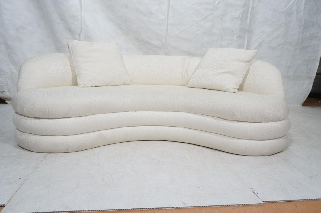 Directional Curved Sofa Possibly Paul Evans or Ka - 2