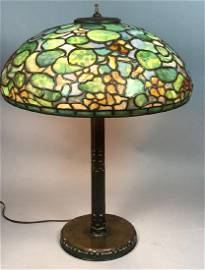 TIFFANY STUDIOS Nasturtium Table Lamp - 18 inch f