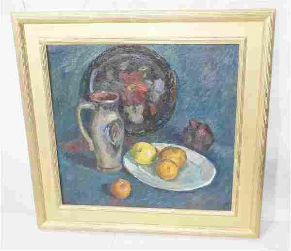Stanislav Petrachevski Fruit Still Life Oil Painting.