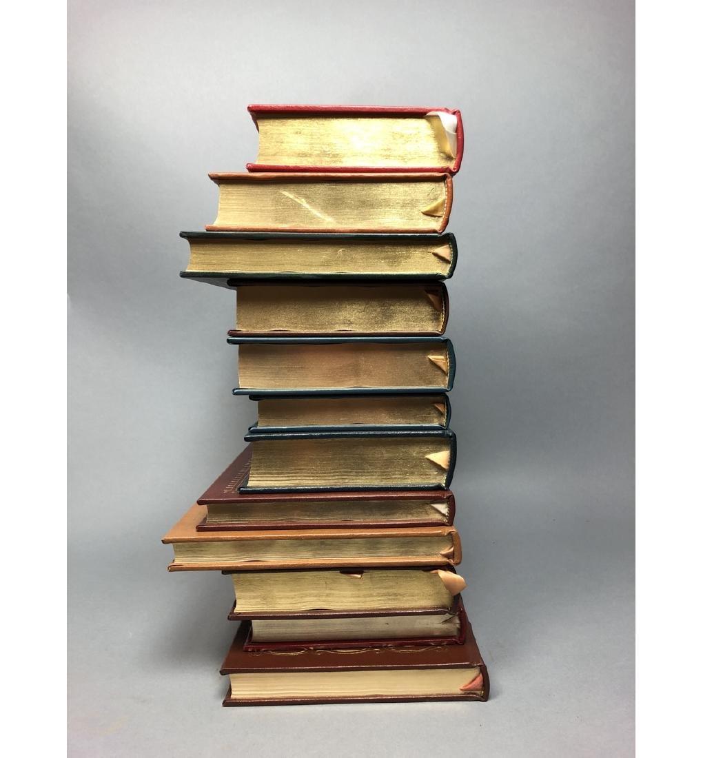 "Lot 12 Leather Bound Books. EASTON PRESS Inc ""Bra - 2"