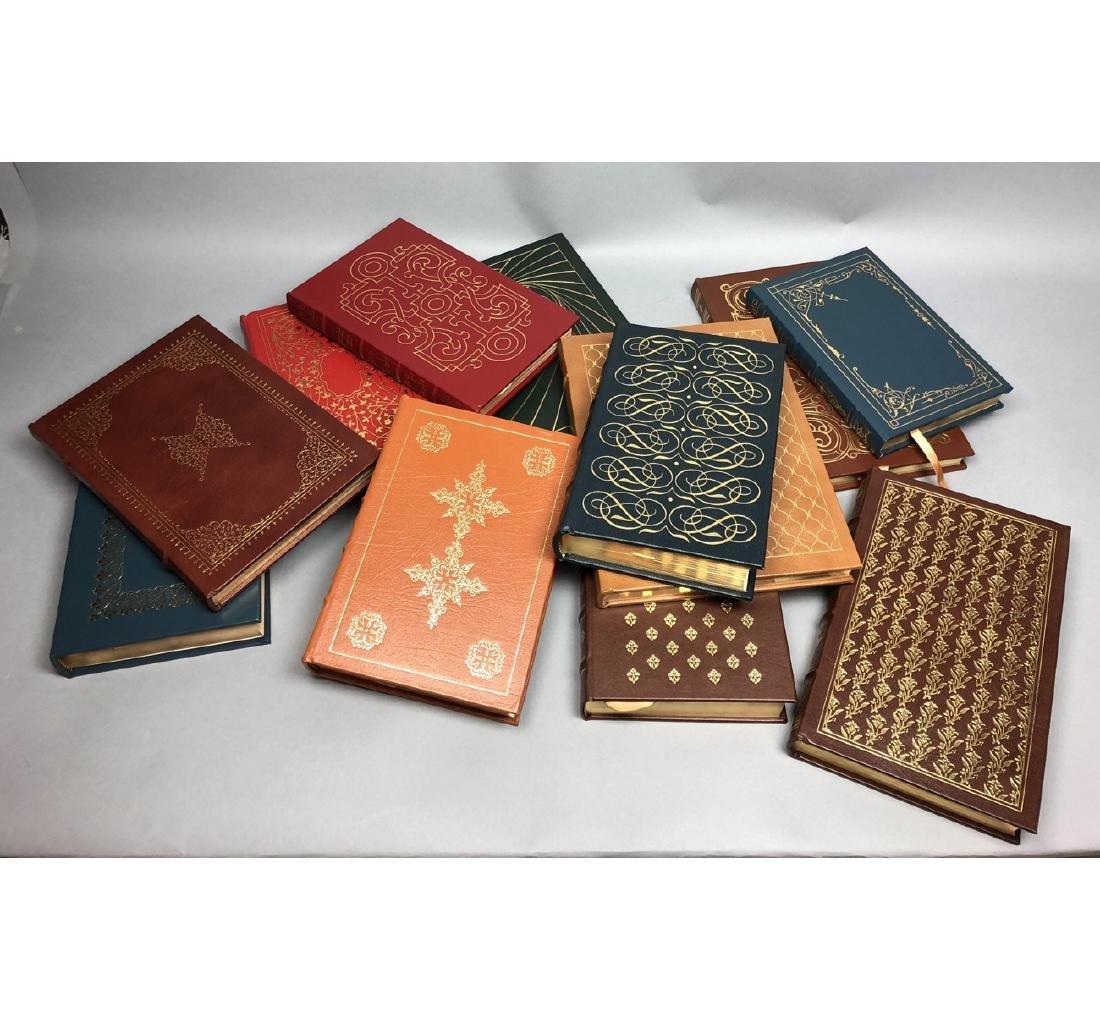 "Lot 12 Leather Bound Books. EASTON PRESS Inc ""Bra - 5"
