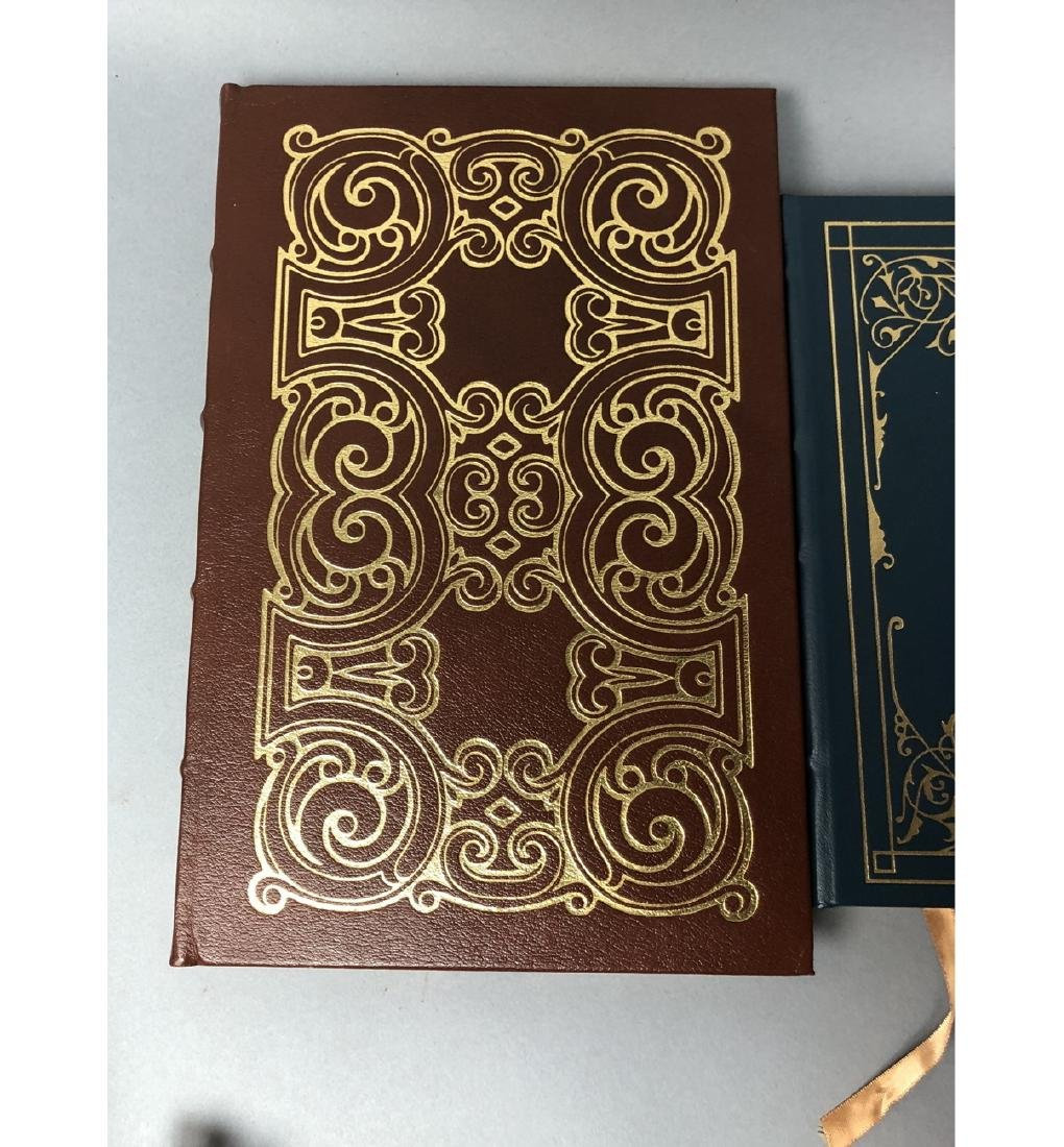 "Lot 12 Leather Bound Books. EASTON PRESS Inc ""Bra - 6"
