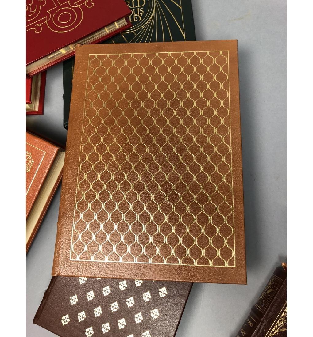 "Lot 12 Leather Bound Books. EASTON PRESS Inc ""Bra - 7"
