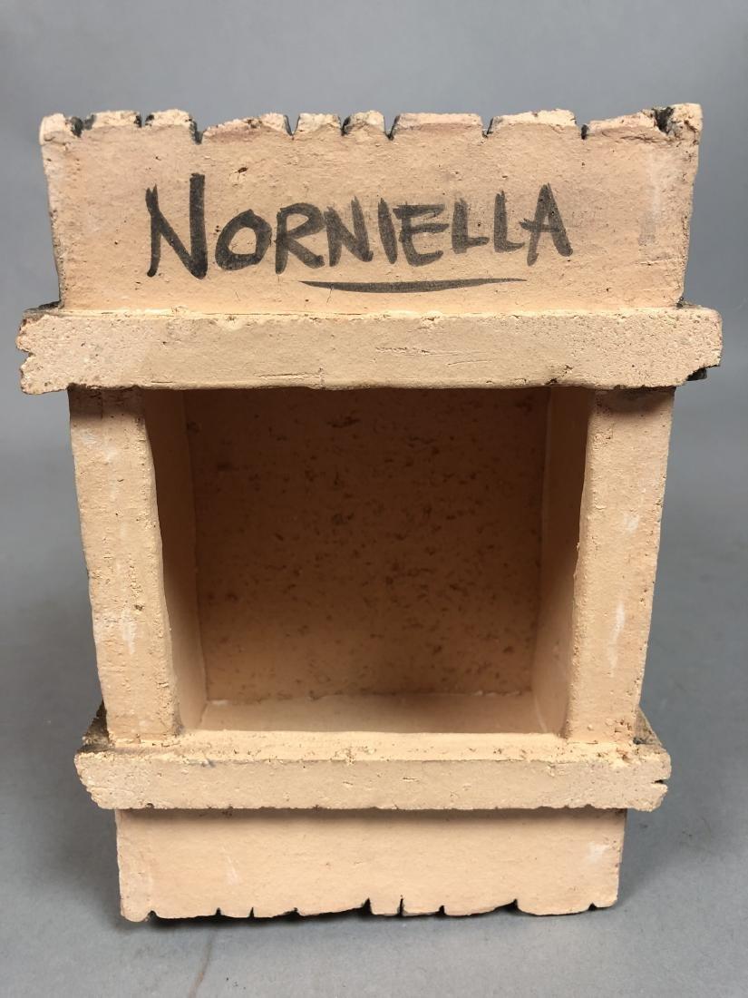 Egg & Crate Clay Figural Sculpture.  NORNIELLA. - 6
