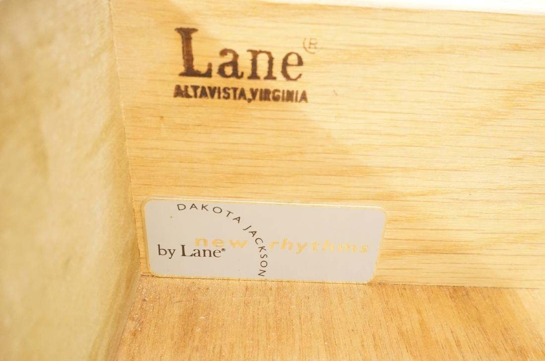 3pc LANE Modernist Tables.  Pr Side End Tables & - 5