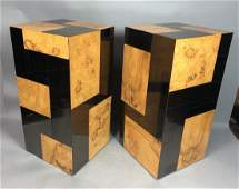 Pr PAUL EVANS Cityscape Square Display Pedestals.