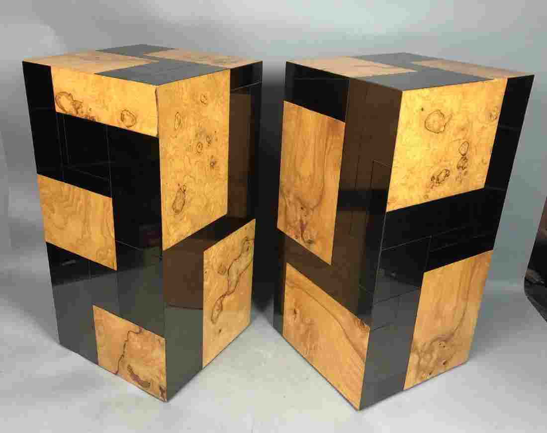 Pr PAUL EVANS Cityscape Square Display Pedestals.