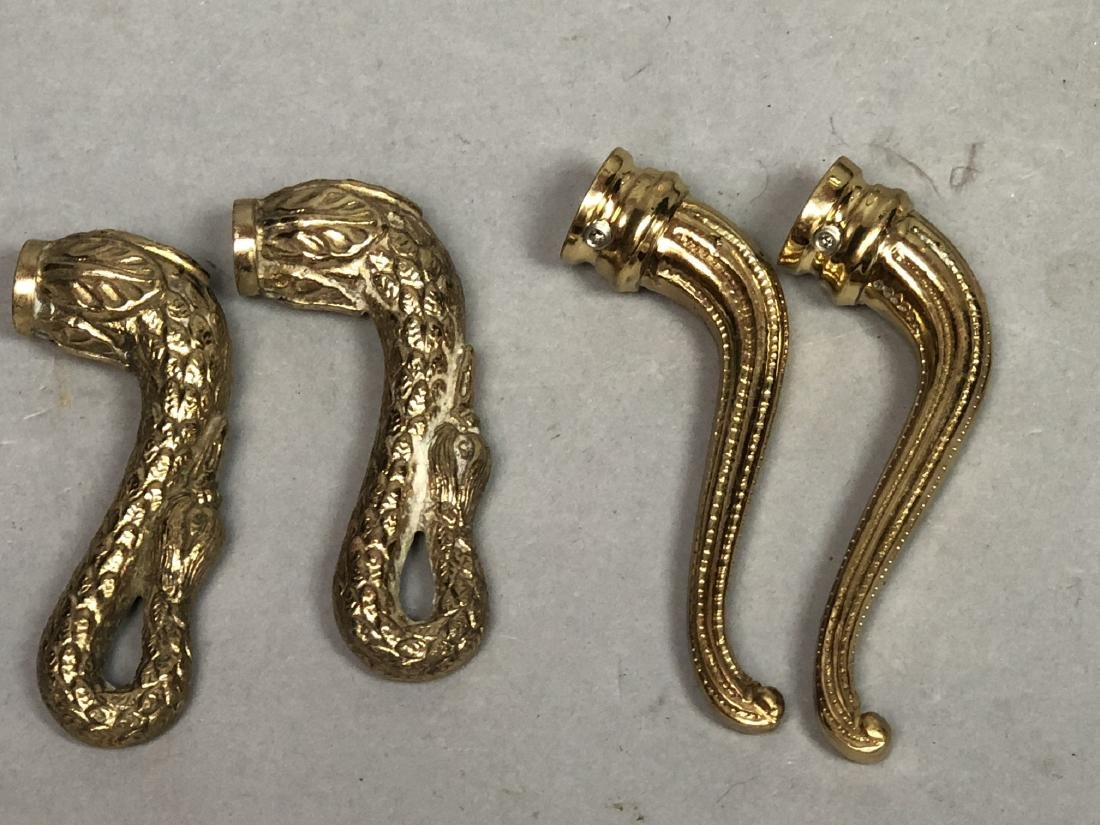 SHERLE WAGNER style Swan Faucet Set. Large winged - 3