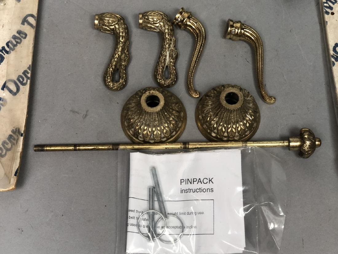 SHERLE WAGNER style Swan Faucet Set. Large winged - 4