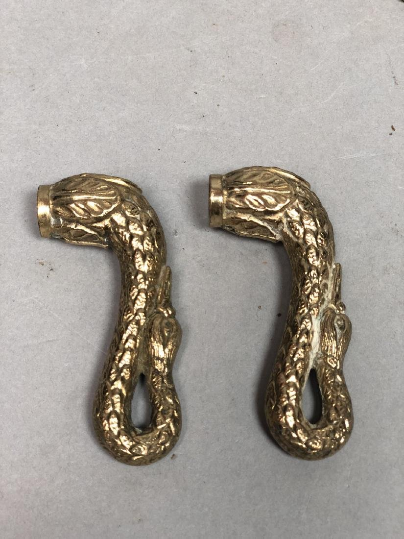 SHERLE WAGNER style Swan Faucet Set. Large winged - 5