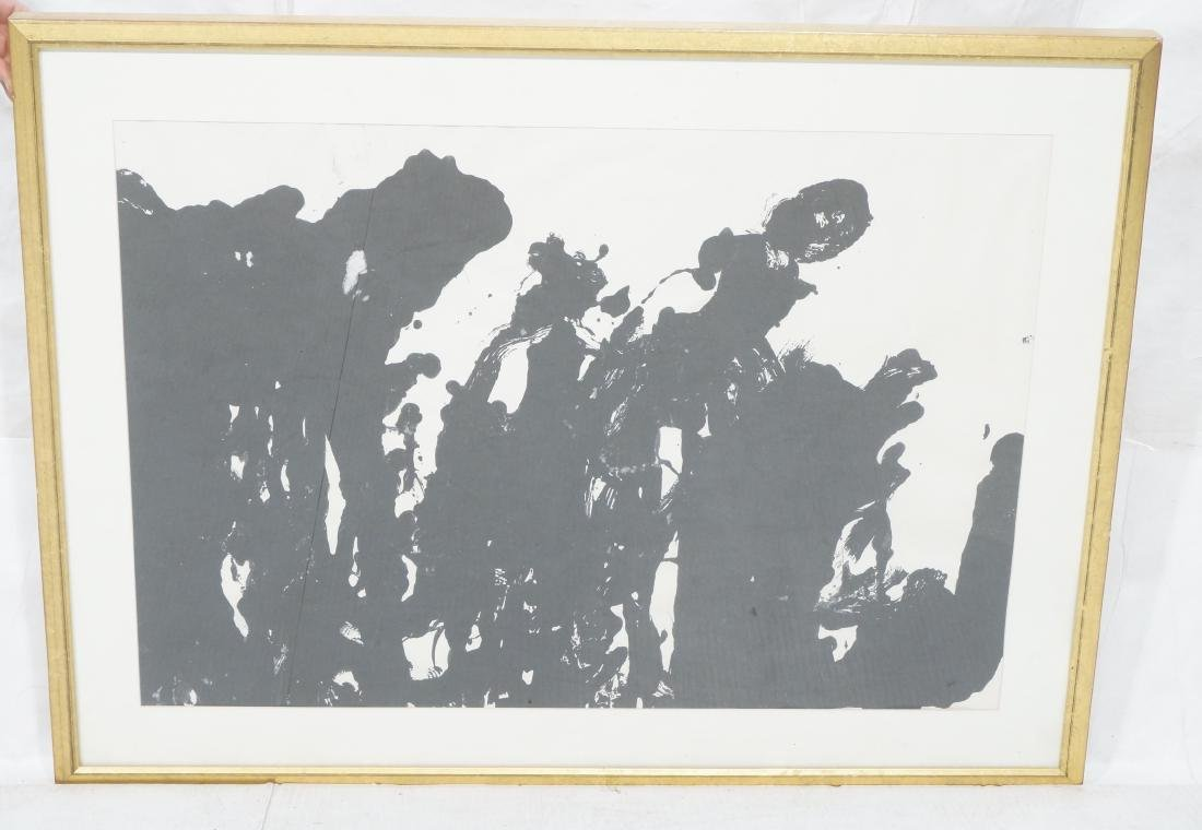 TARO YAMAMOTO Abstract Expressionist Painting. Si