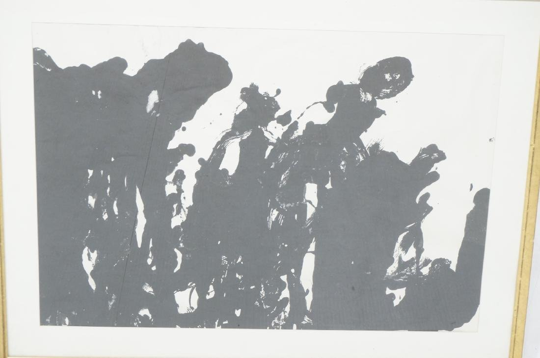 TARO YAMAMOTO Abstract Expressionist Painting. Si - 2
