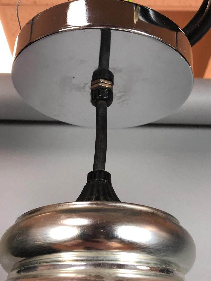 Modernist Large Figural Light Bulb Hanging Pendan - 4