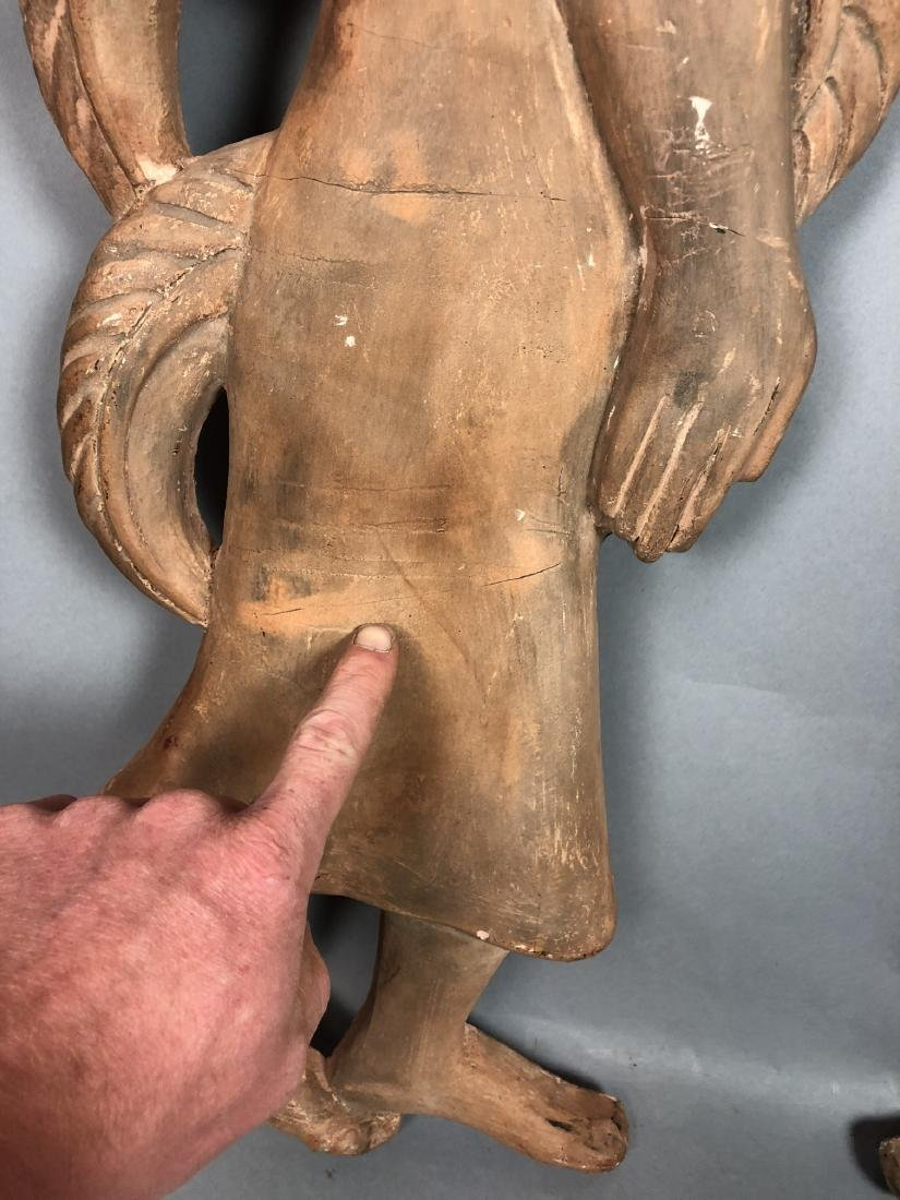 Pr Figural Weinberg Style Pottery Wall Sculpture - 10