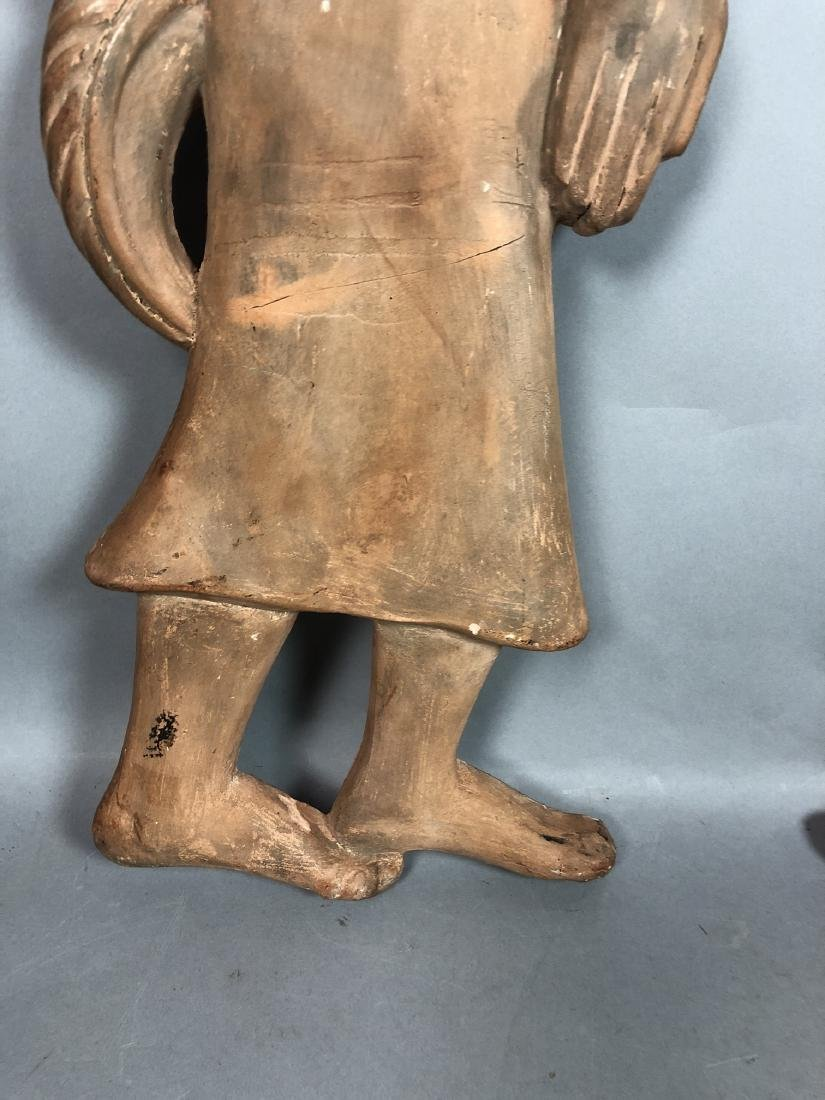 Pr Figural Weinberg Style Pottery Wall Sculpture - 6