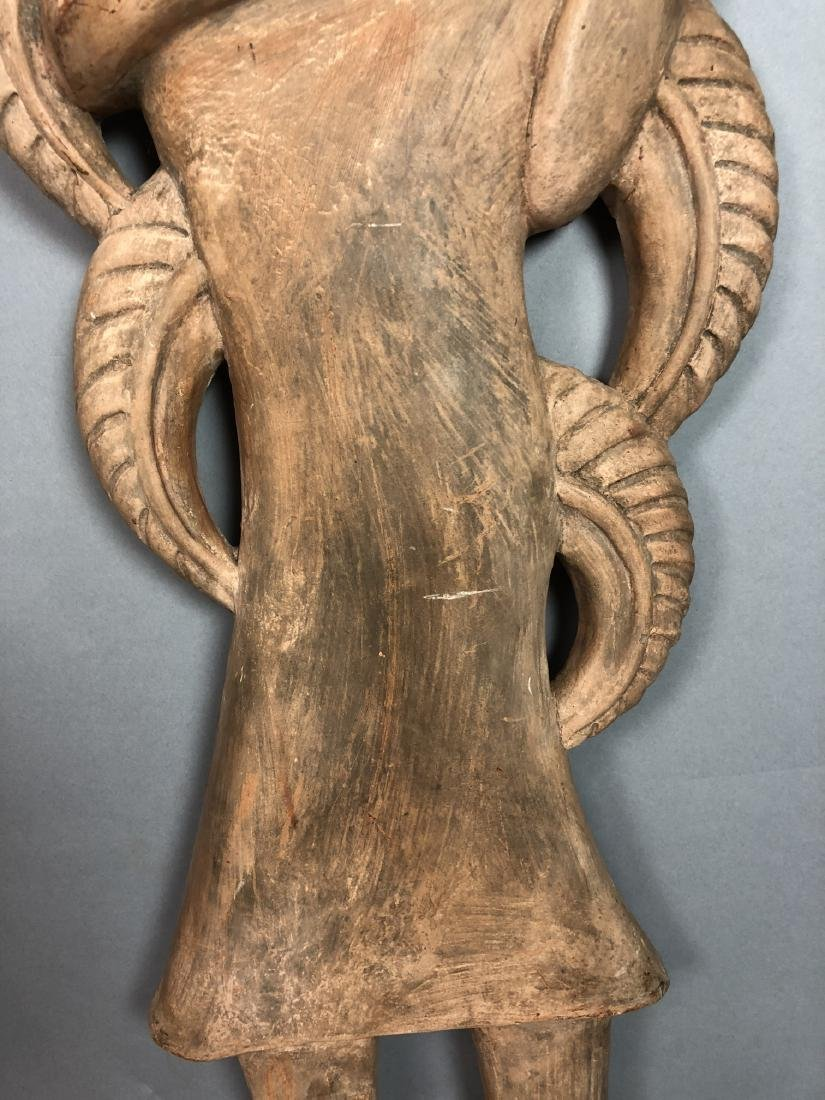 Pr Figural Weinberg Style Pottery Wall Sculpture - 8