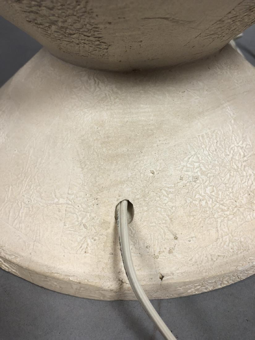 ALBERT GIACOMETTI Style Plaster Table Lamp. Moder - 8