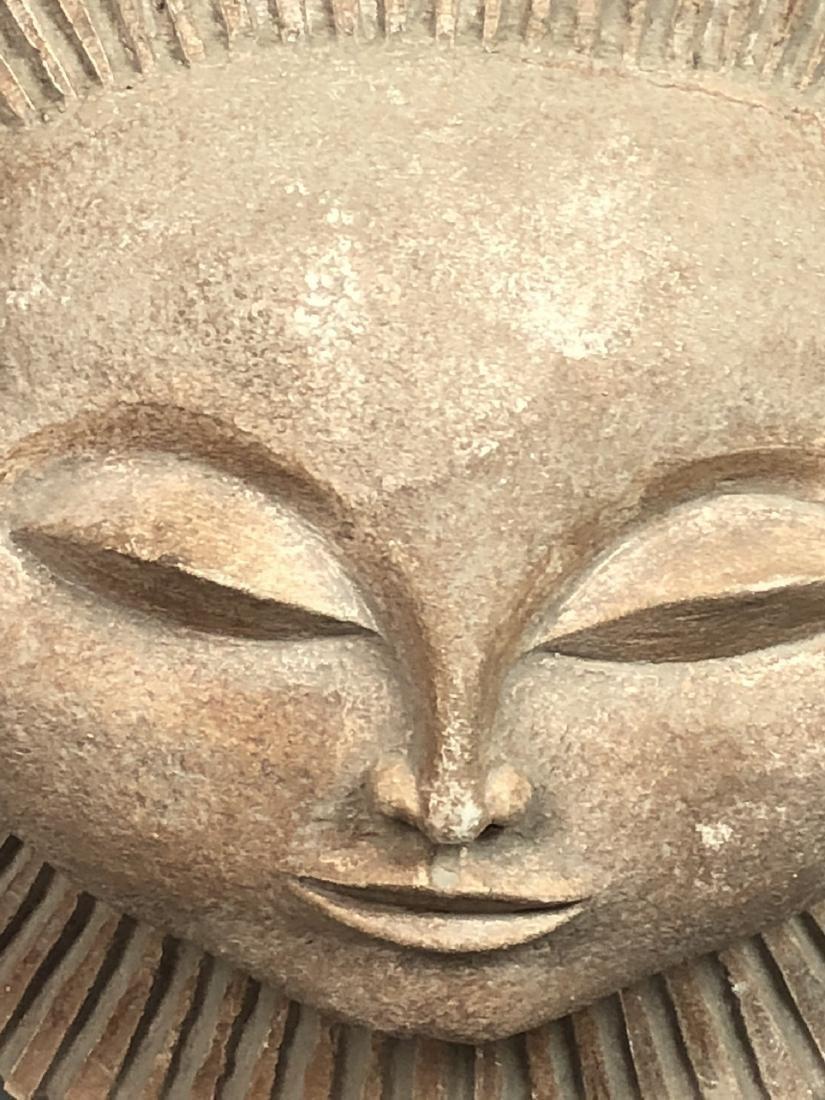 AUSTIN PRODUCTIONS 1969 Sun Face Sculpture. Marke - 7