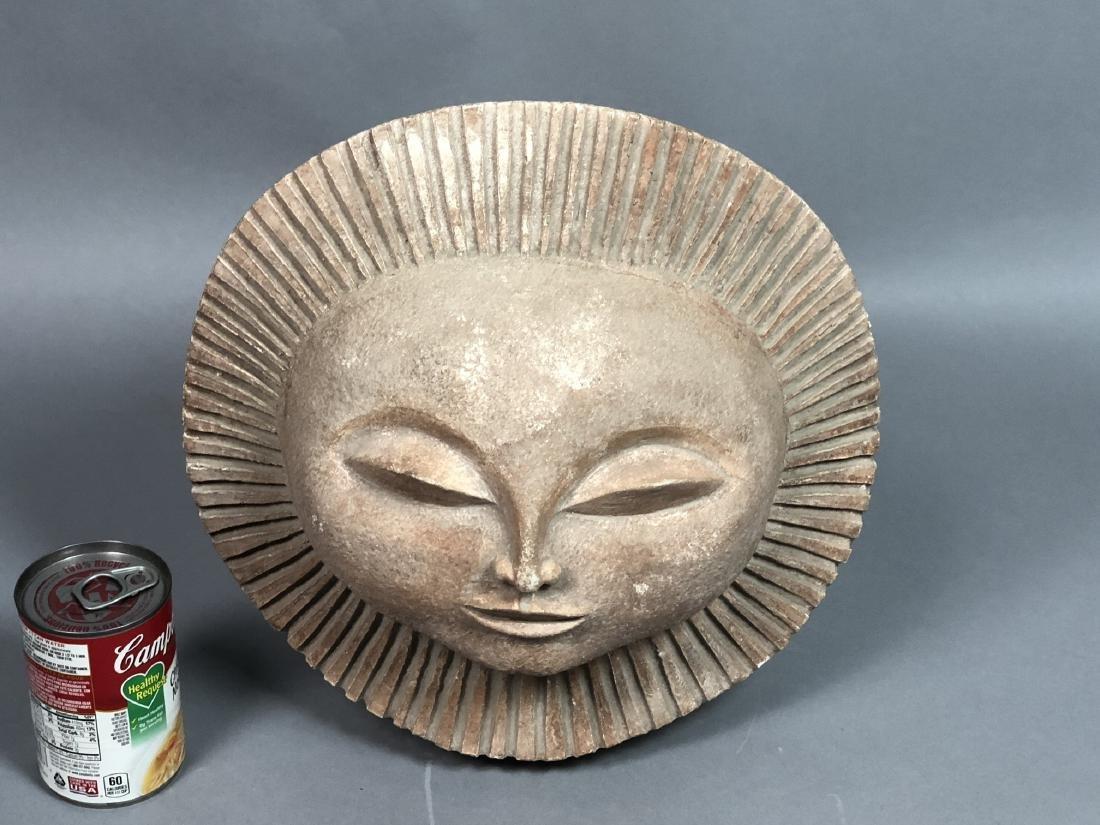 AUSTIN PRODUCTIONS 1969 Sun Face Sculpture. Marke - 8