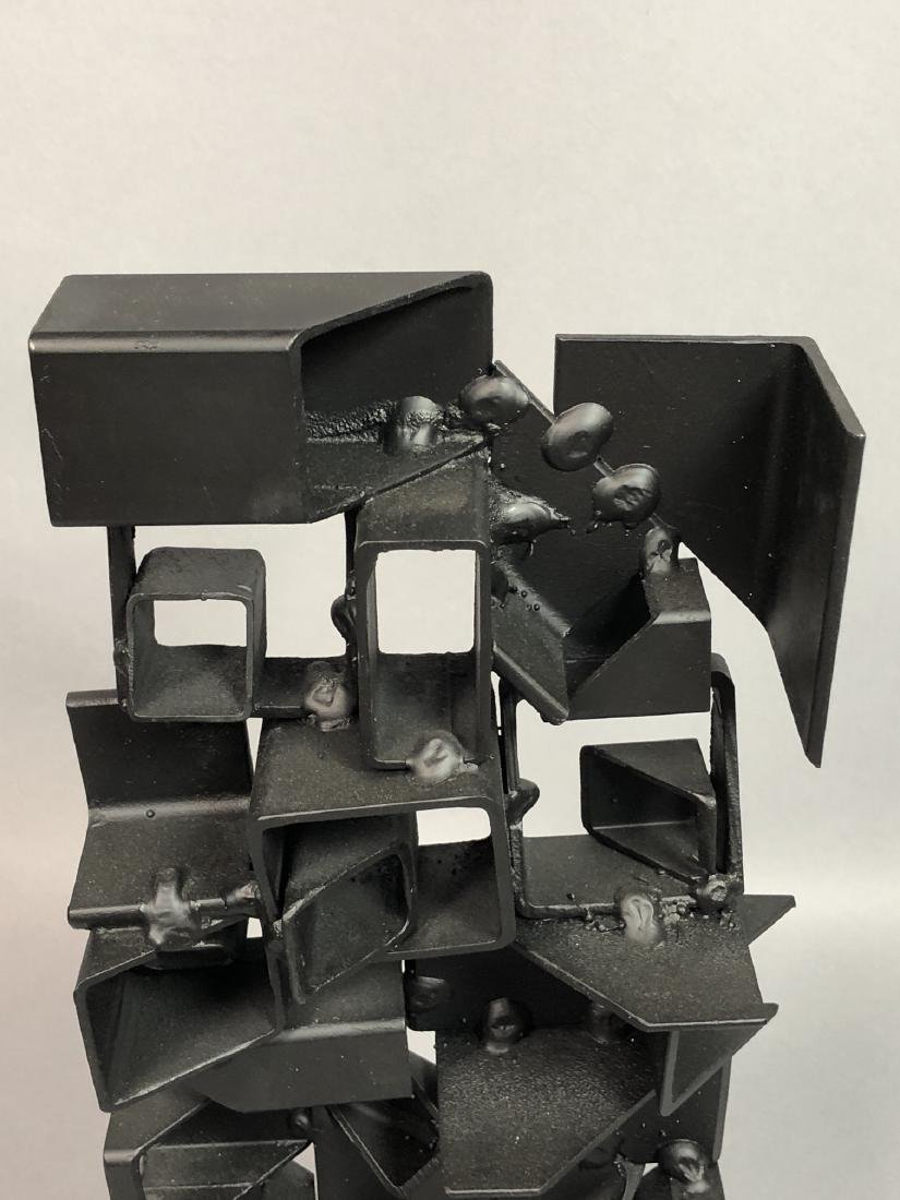 JOSEPH SELTZER Welded Assemblage Modernist Sculpt - 3