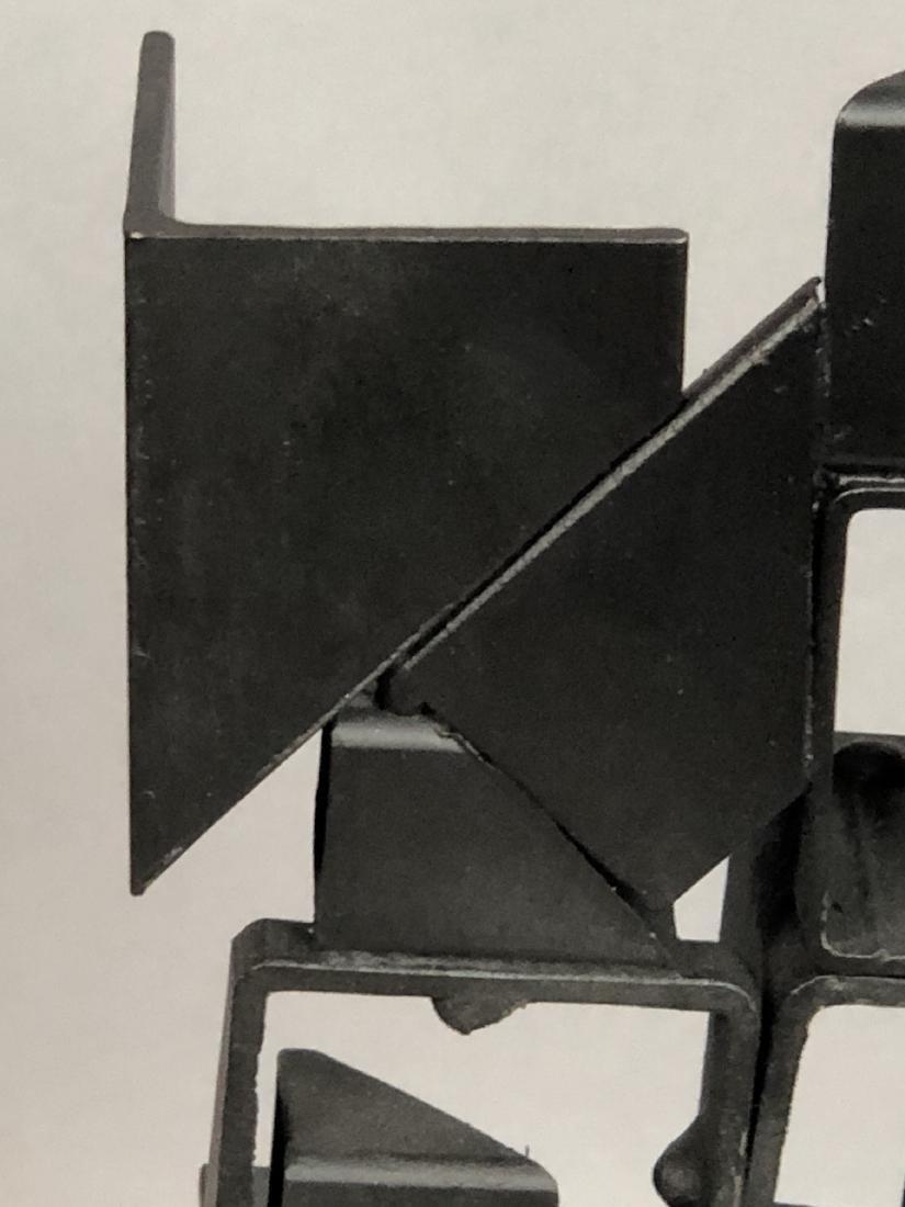 JOSEPH SELTZER Welded Assemblage Modernist Sculpt - 9