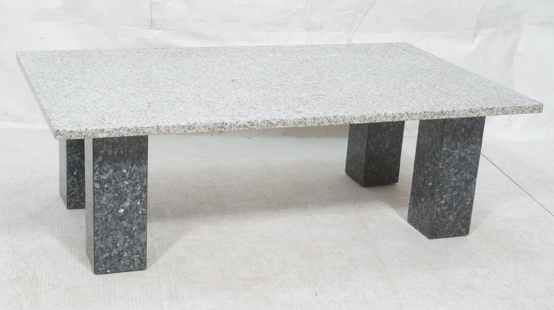 Modernist Italian Style Granite Cocktail Coffee T