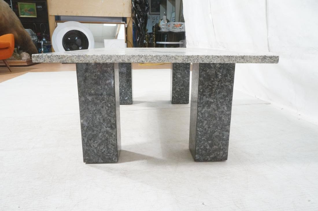 Modernist Italian Style Granite Cocktail Coffee T - 5
