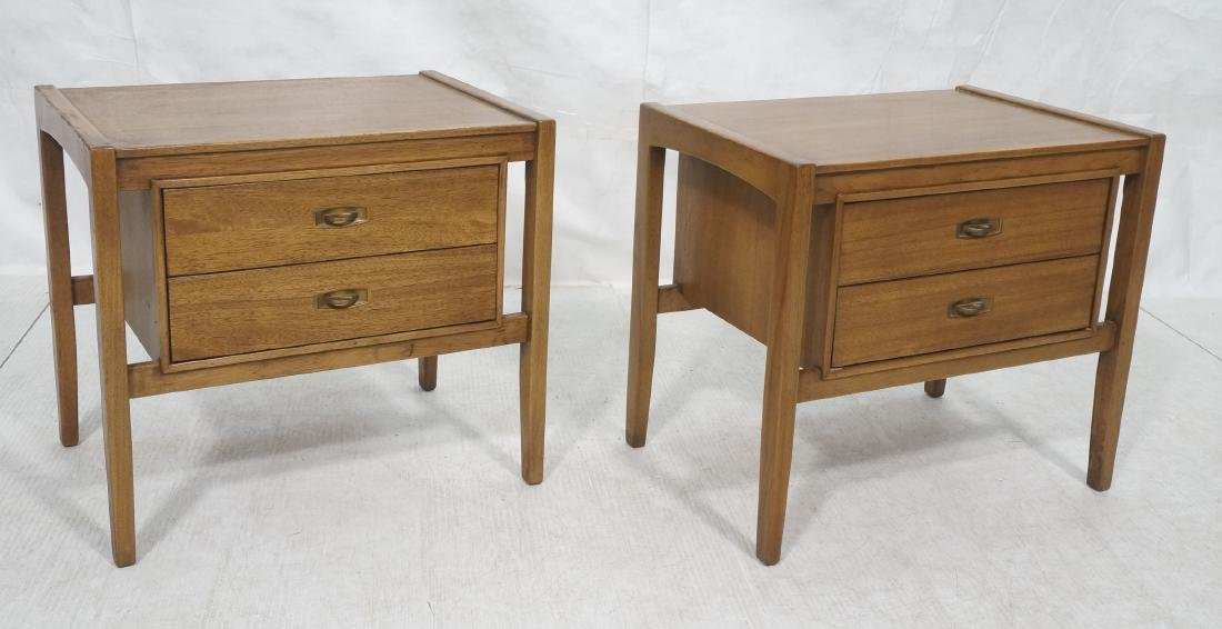 Pr DREXEL American Modern End Tables. Night Stand