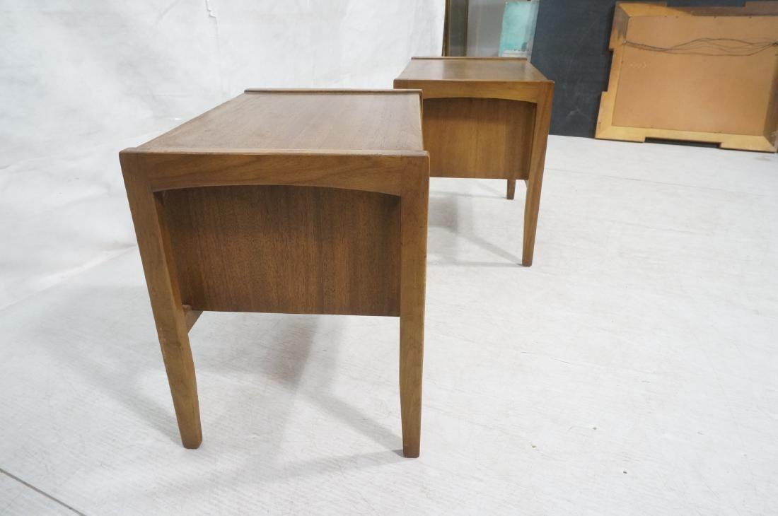 Pr DREXEL American Modern End Tables. Night Stand - 3
