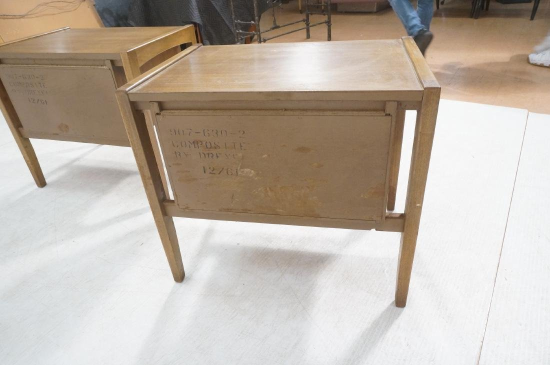 Pr DREXEL American Modern End Tables. Night Stand - 4