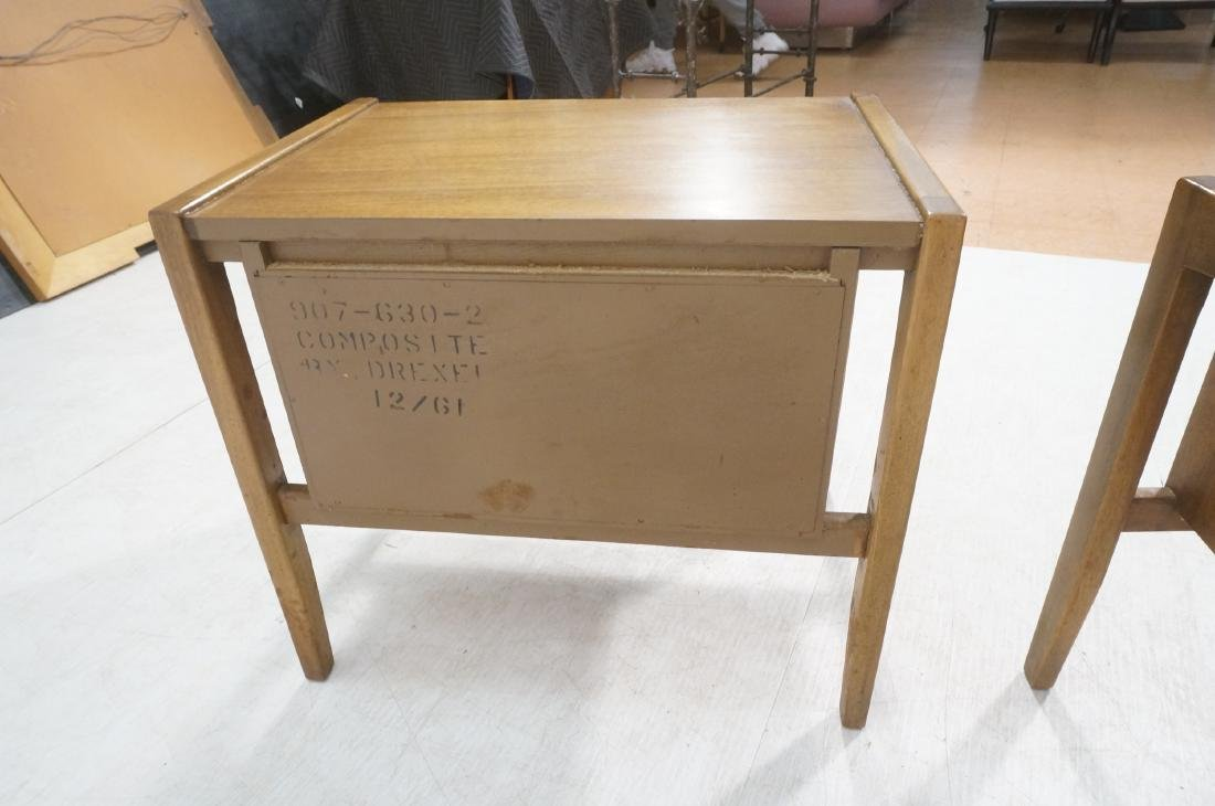 Pr DREXEL American Modern End Tables. Night Stand - 5