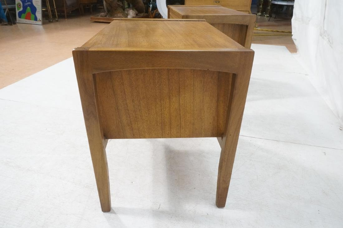 Pr DREXEL American Modern End Tables. Night Stand - 7